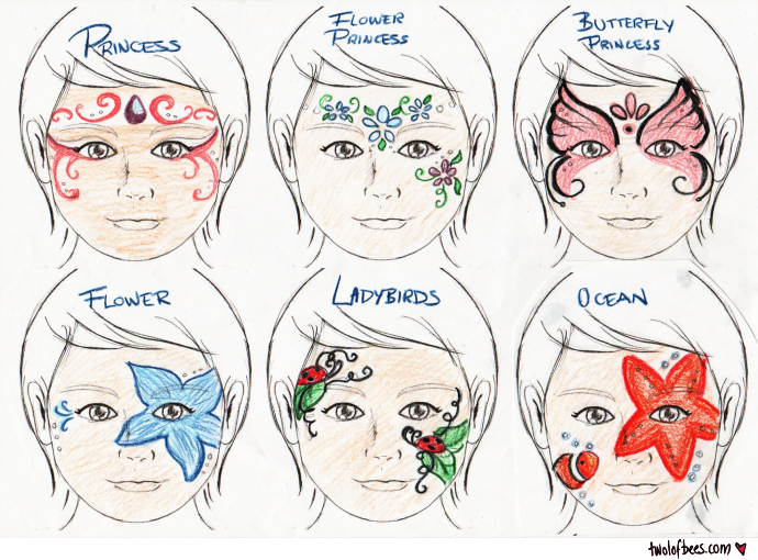Face Painting Designs 2 Of 3