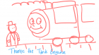 1 Jan 13 - Thomas the Tank Engine