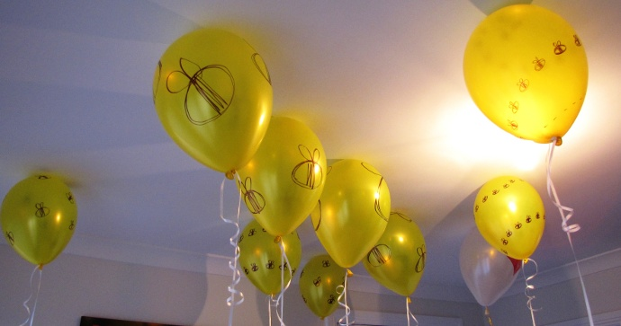 Birthday Bee Balloons