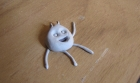 Blutack Pea Sculpture