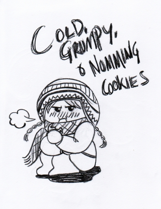 Cold Grumpy Cookies