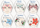 Face-Painting Designs (2 of 3)