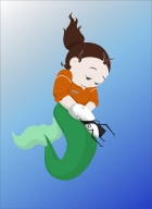 Freefall Blooper - Mermaid