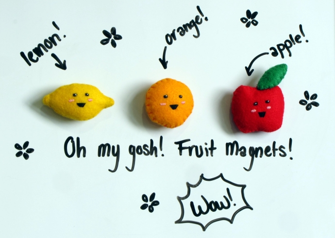 Fruity Magnets 1