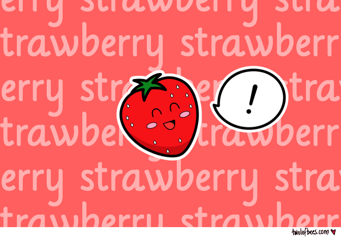 Happy Strawberry