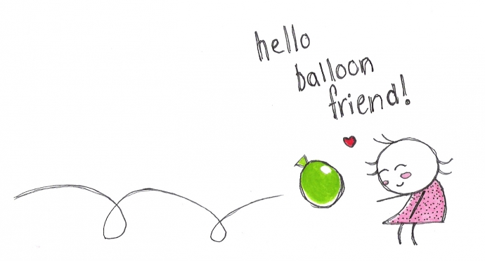 Hello Balloon Friend
