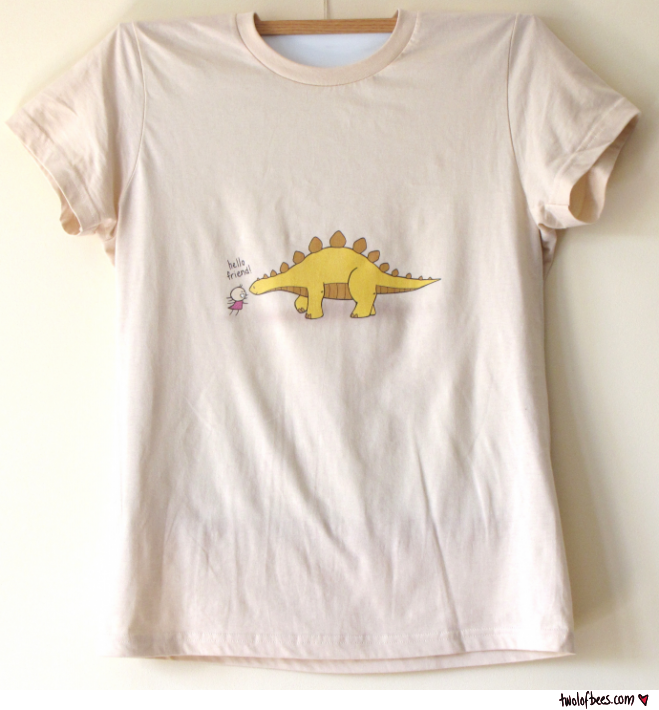 Hello Dinosaur Friend (t-shirt)
