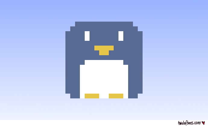 Little Pixel Penguin