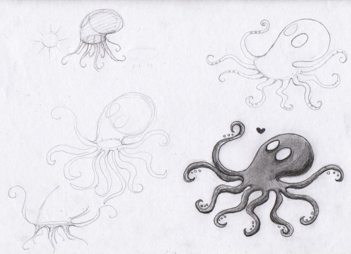 Loftopus in Progress 01