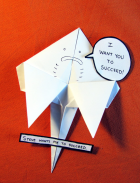 Motivational Origami Stingray