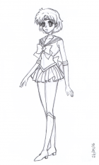 Sailor Mercury Study