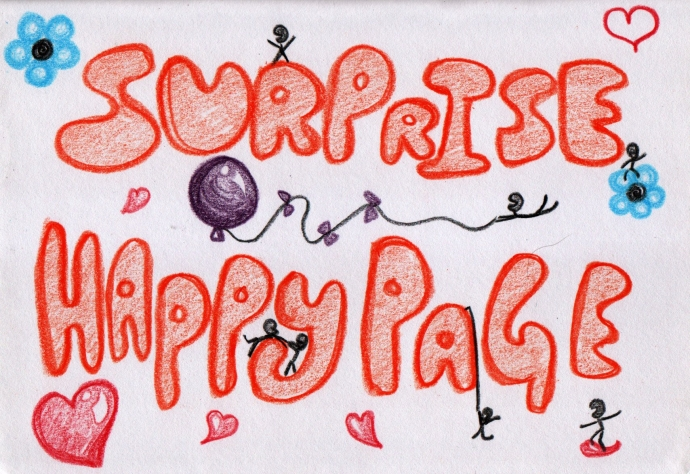 Surprise Happy Page