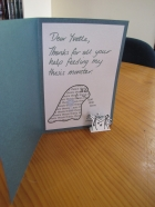 Thank you Card (inside)
