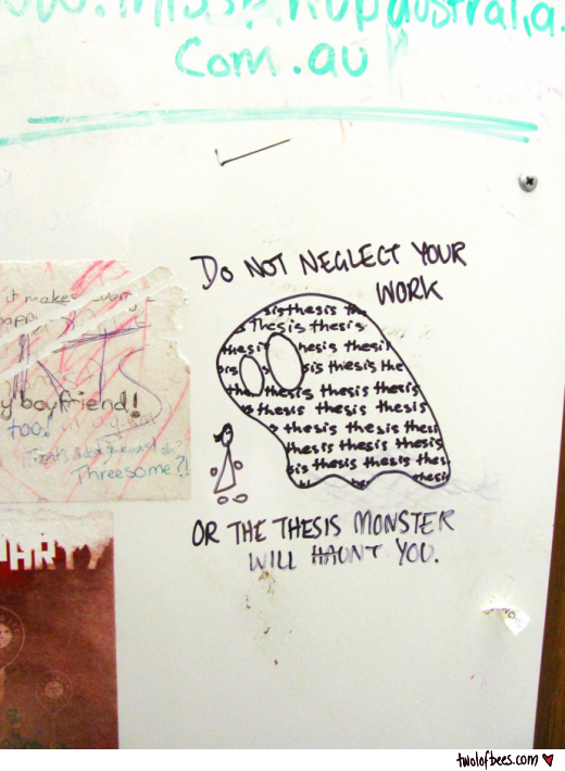 Thesis Monster Graffiti