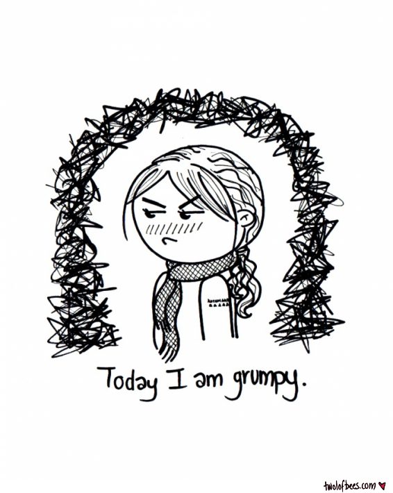 Today I Am Grumpy