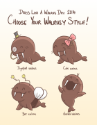 Dress Like A Walrus Day 2014