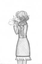 Winter Girl (sketch)