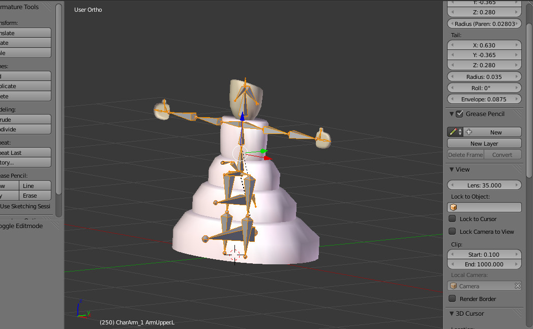 Testting character rig
