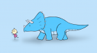 Triceratops Friend
